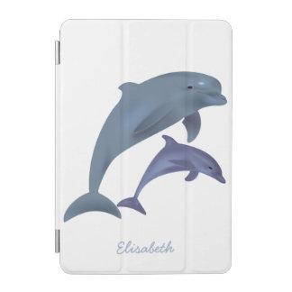 Protection iPad Mini Nom sautant d'illustration de dauphins