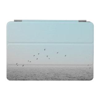 Protection iPad Mini Oiseaux en brouillard bleu