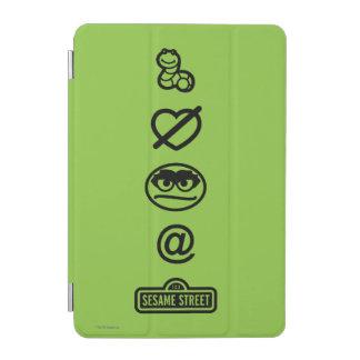 Protection iPad Mini Oscar les icônes de rouspéteur
