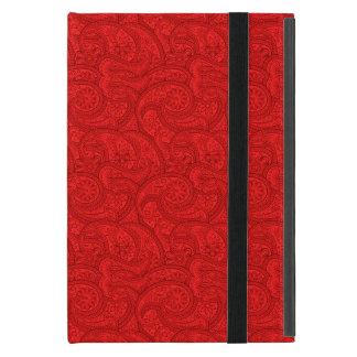 Protection iPad Mini Paisley rouge