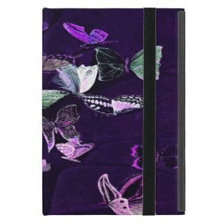 Protection iPad Mini Papillons sur le pourpre