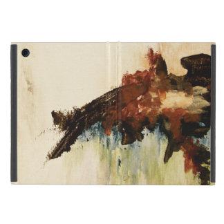Protection iPad Mini Peinture de paysage d'art abstrait ce qui reste