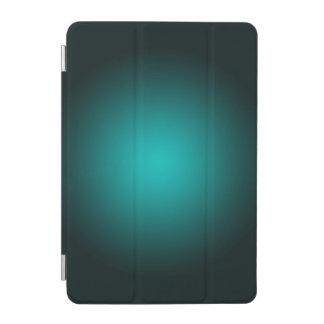 Protection iPad Mini Personnalisez - l'arrière - plan turquoise de