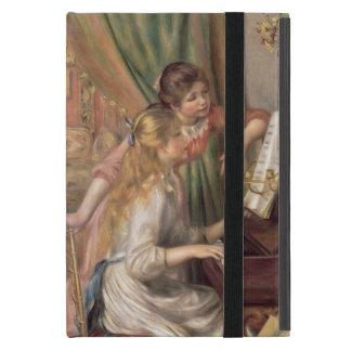 Protection iPad Mini Pierre jeunes filles de Renoir un | au piano