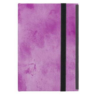 Protection iPad Mini pourpre sans couture d'aquarelle de texture