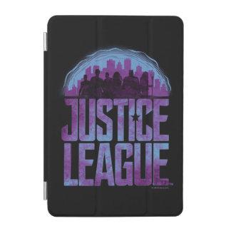 Protection iPad Mini Silhouette de ville de ligue de justice de la