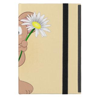 Protection iPad Mini Souris avec la fleur