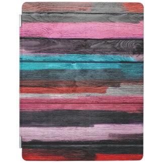Protection iPad Motif #2 d'aquarelle coloré par résumé