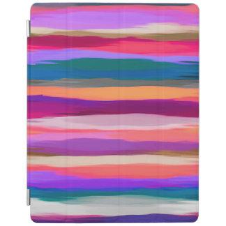 Protection iPad Motif coloré d'abrégé sur aquarelle