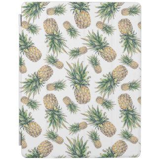 Protection iPad Motif d'ananas d'aquarelle