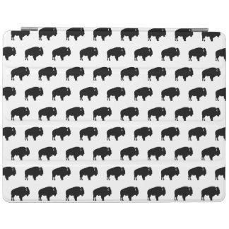 Protection iPad motif de bison