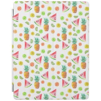 Protection iPad Motif de fruit glacé d'aquarelle