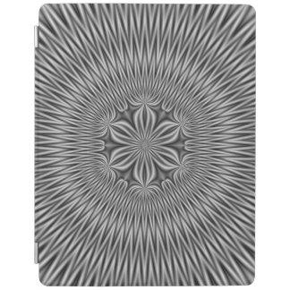 Protection iPad Motif floral dans le monochrome
