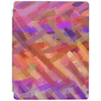 Protection iPad Motif multicolore abstrait #12 d'aquarelle