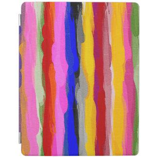 Protection iPad Motif multicolore abstrait #8 d'aquarelle