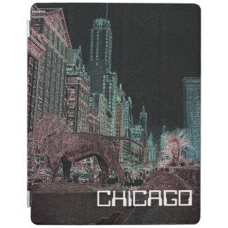 PROTECTION iPad NÉON DU MUSÉE D'ART 1967 D'AVENUE DE CHICAGO