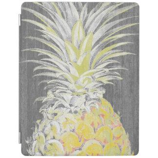 Protection iPad Pinneapple jaune tropical