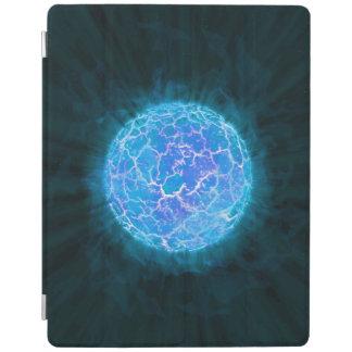 Protection iPad Planète congelée bleue