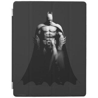 Protection iPad Pose large noire et blanche de la ville | Batman