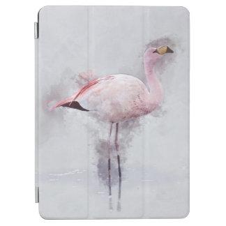 Protection iPad Pro Aquarelle rose de flamant