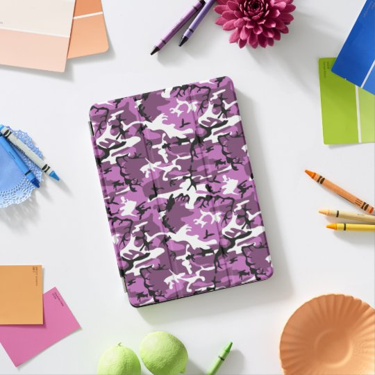 Protection iPad Pro Camo violet