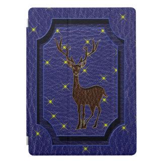 Protection iPad Pro Cerfs communs indigènes simili cuir de zodiaque