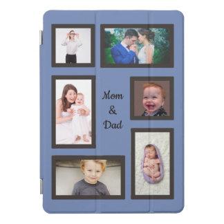 Protection iPad Pro Cover Coutume de photo de maman et de papa six