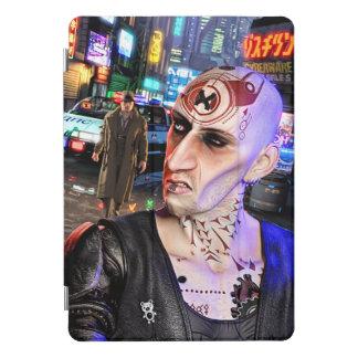 Protection iPad Pro Cover Cyberpunk Streetlife #1