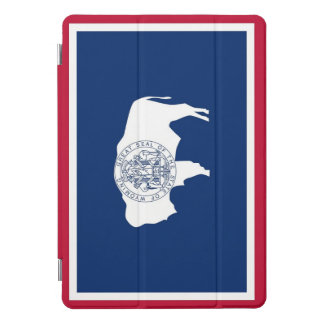 "Protection iPad Pro Cover iPad d'Apple 10,5"" pro avec le drapeau du Wyoming,"