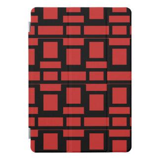 Protection iPad Pro Cover Motif mal adapté de carrés et de rectangles