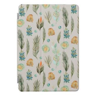Protection iPad Pro Cover Nature de feuille et de graines d'aiguilles de pin