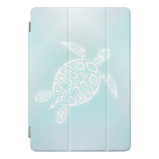 Protection iPad Pro Cover Tortue de blanc de turquoise