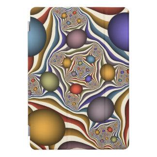 Protection iPad Pro Cover Volant, art coloré, moderne, abstrait de fractale