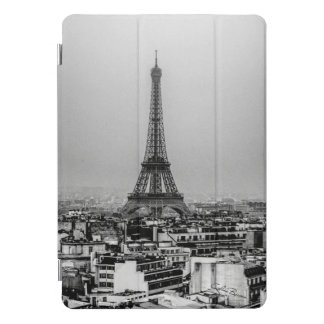 Protection iPad Pro Cover Vue de ville de Paris avec Tour Eiffel