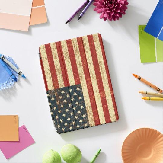 Protection iPad Pro Drapeau américain sale