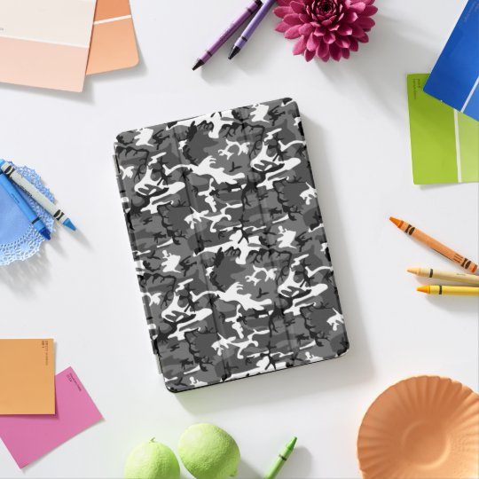 Protection iPad Pro Glace Camo d'hiver