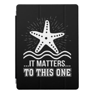 Protection iPad Pro Il importe à une étoile de mer inspirée