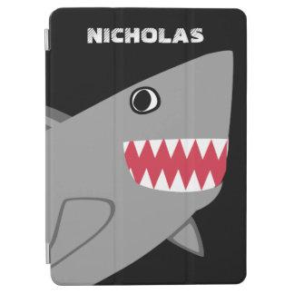 Protection iPad Pro Le requin gris mignon personnalisé badine les