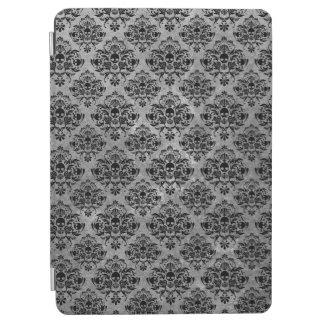 Protection iPad Pro Mini gris fascinant de noir de motif de damassé de