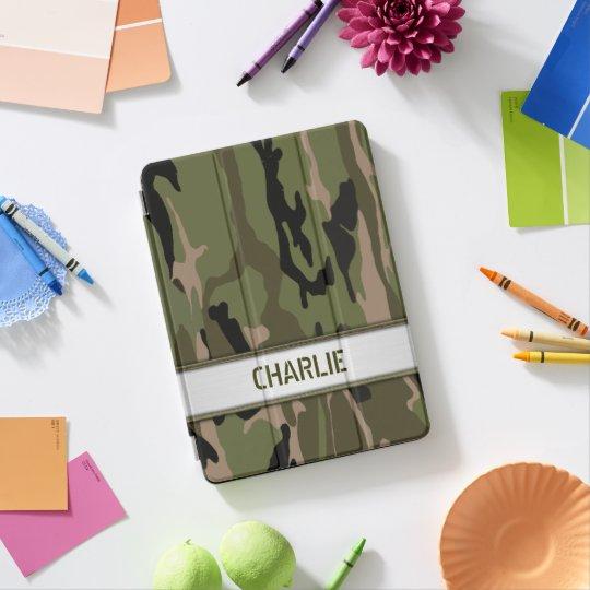 Protection iPad Pro Modèle nommé vert militaire de Camo