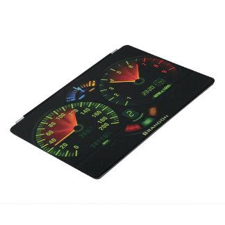 Protection iPad Pro Odomètre de tachymètre conduisant la couverture