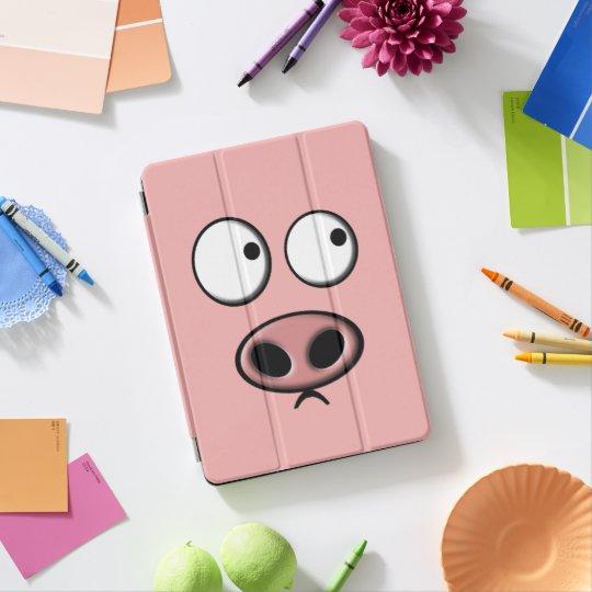 Protection iPad Pro Porc drôle mignon