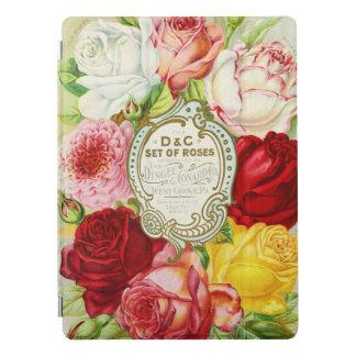 Protection iPad Pro Roses Dingee et catalogue de graine de Conard