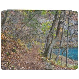 Protection iPad Promenade d'automne de moulin d'allée