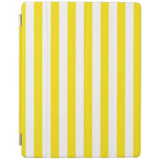 Protection iPad Rayures jaunes verticales