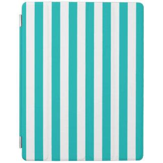 Protection iPad Rayures verticales d'Aqua