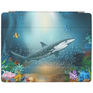 Protection iPad Requin dans l'océan