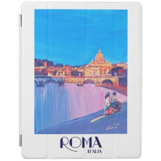 Protection iPad Rétro poster vintage de Rome Italie