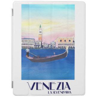 Protection iPad Rétro poster vintage de Venise Italie