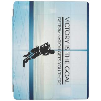Protection iPad Slogan SUPÉRIEUR de victoire d'hockey